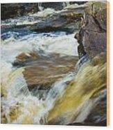 Falls Of Dochart Scotland Wood Print