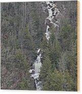 Falls Of Pendleton Wood Print