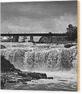 Falls Of The Big Sioux Wood Print