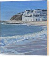 Falmouth Heights Beach Cape Cod Wood Print