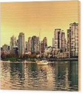 False Creek Triptych Centre Panel Wood Print