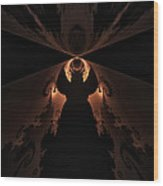 False Prophet Wood Print