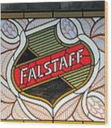 Falstaff Window Wood Print