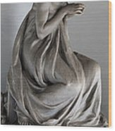 Famiglia Meretti Grave Marker Monumental Cemetery Milan Italy Wood Print