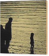 Family Paddle Wood Print