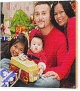 Family Photo 03 Wood Print