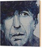 Famous Blue Raincoat Wood Print