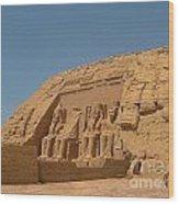 Famous Egyptian Landmarks Wood Print