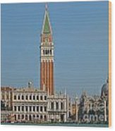 Famous Venice Italy Wood Print