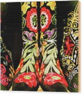 Fancy Boots Wood Print