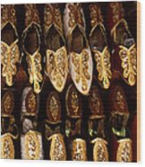 Fancy Slippers Wood Print