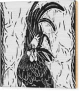 Fancy Tail Wood Print