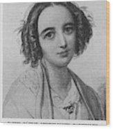 Fanny Caecilie Mendelssohn  Sister Wood Print