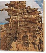 Fantastic Hoodoo Fantasy Canyon Utah United States Wood Print