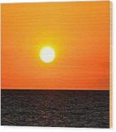 Fantastic Sunset Wood Print