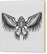 Fantasy Bird  Wood Print