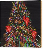 Fantasy Christmas Tree Wood Print