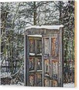 Fantasy Door Wood Print