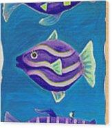 Fantasy Fish Wood Print