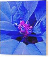 Fantasy Flower 11 Wood Print