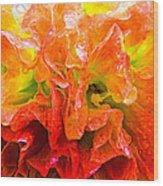 Fantasy Flower 7 Wood Print