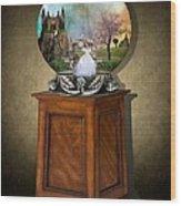 Fantasy Globe 2 Wood Print