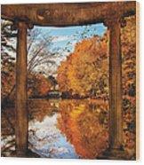 Fantasy - Paradise Waits Wood Print