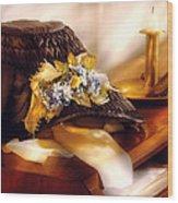 Fantasy - The Widows Bonnet  Wood Print