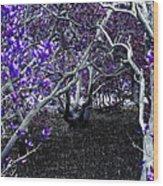Fantasywood Wood Print by Fabian Roessler