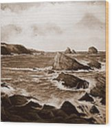 Faraid Head Durness Scotland Wood Print