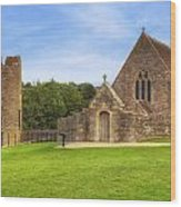 Farleigh Hungerford Castle Wood Print