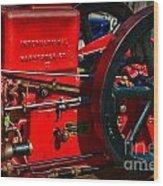 Farm Equipment - International Harvester Feed And Cob Mill Wood Print