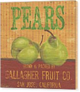 Farm Fresh Fruit 1 Wood Print