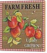 Farm Fresh-jp2380 Wood Print