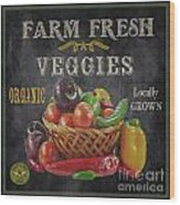 Farm Fresh-jp2637 Wood Print