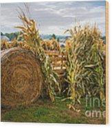 Farm Life1 Wood Print