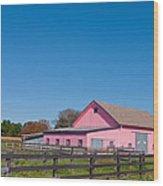 Farm Like A Girl Wood Print