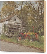 Farm Still Life Wood Print