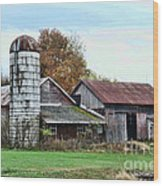 Farm - The Old Barn Wood Print