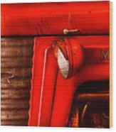 Farm - Tractor - The Tractor Wood Print