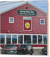 Farm- Way  Www.vermontgear.com Wood Print