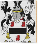 Farmer Coat Of Arms Irish Wood Print