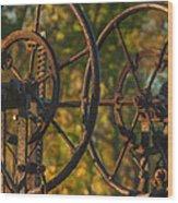 Farmers Tools Of Old Wood Print