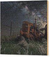 Farming The Rift Wood Print