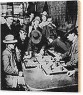 Faro Game Orient Saloon C. 1900 - Arizona Wood Print