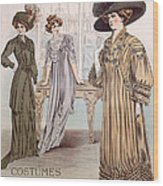 Fashion Advert For Eloy Mignot Wood Print