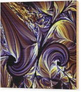 Fashion Statement Abstract Wood Print