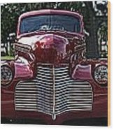 Fat Chevy Wood Print
