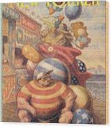 New Yorker September 6th, 1993 Wood Print