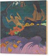 Fatata Te Miti  Wood Print